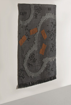 Nuragic Black Tapestry