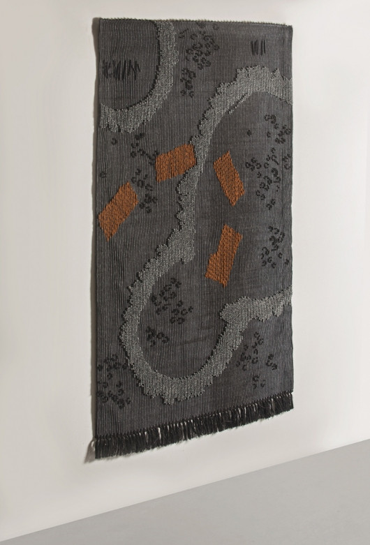 Nuragic Black Tapestry