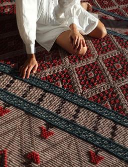 Banded Carpet