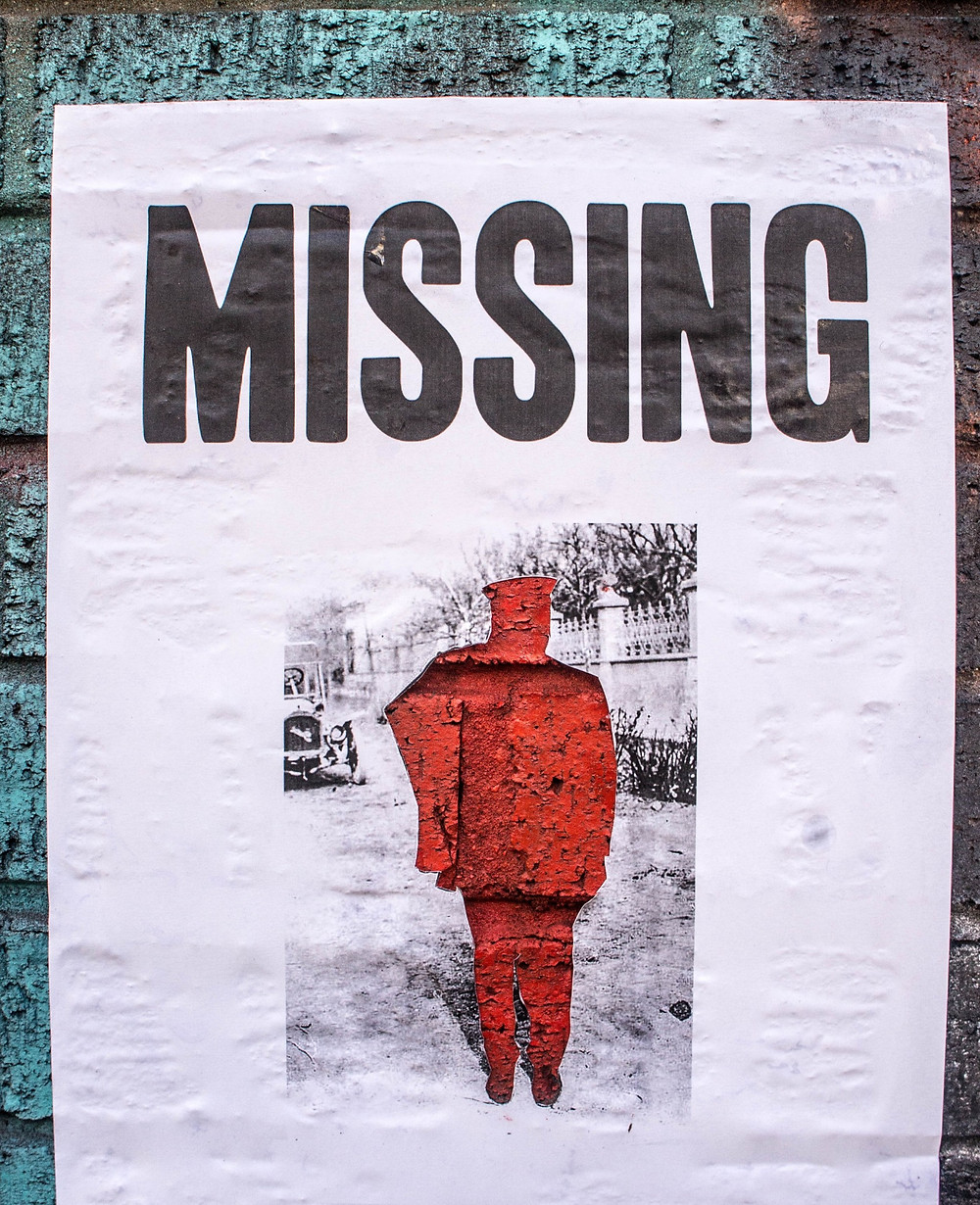 a person is missing