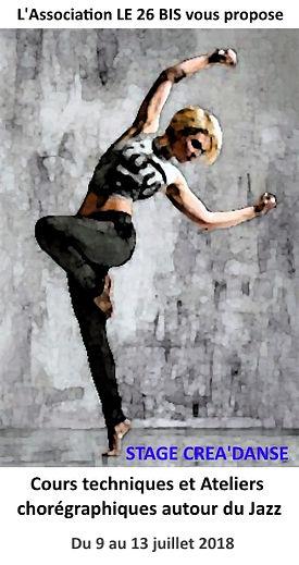 Stage de danse classique à l'atelier Saint Brieuc