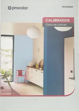 Carta Colores Calibrados
