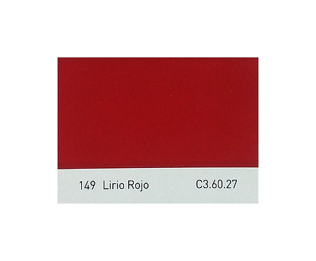 Color 149 Lirio Rojo