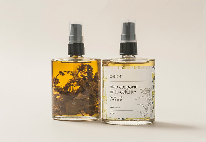 óleo corporal anti-celulite