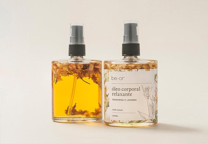 óleo corporal relaxante