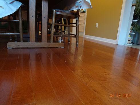 Hardwood flooring - maple.JPG