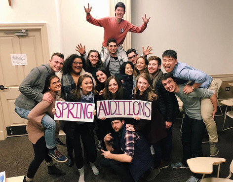 Spring 2018 Auditions