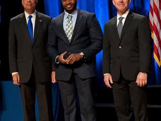 Founder Chucky Smiley receives 2016 DHS Secretary Award for Volunteer service
