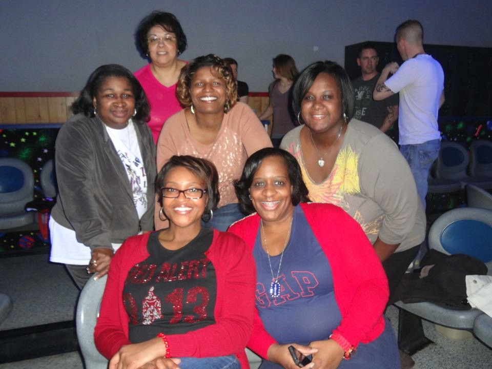Sisterhood Bowling Party 2012