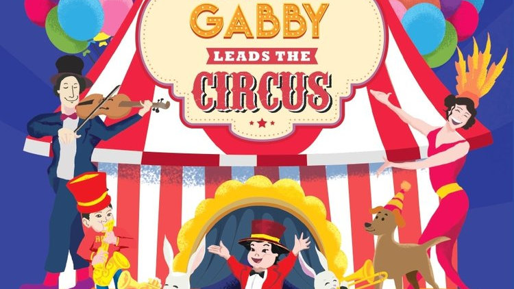 Happy Gabby Leads the Circus