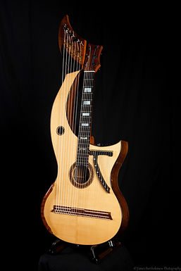 23 string Harp Guitar by Stuart Mewburn