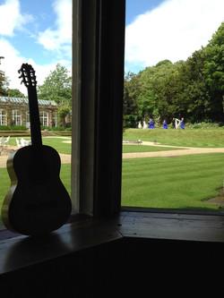 Wedding guitar St Audries Park
