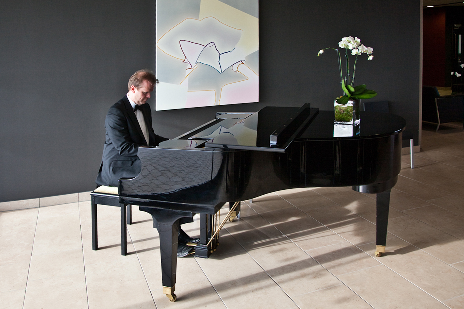 Wedding pianist Jon Pickard