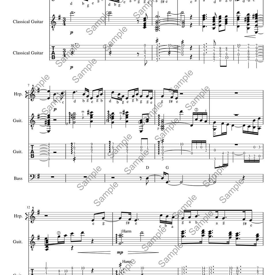 La Fille Aux Cheveaux De Lin p1 sample.j