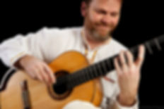 Spanish guitarist live in concert