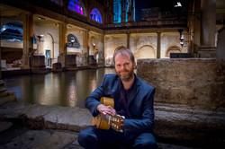 Wedding Guitarist in Roman Baths