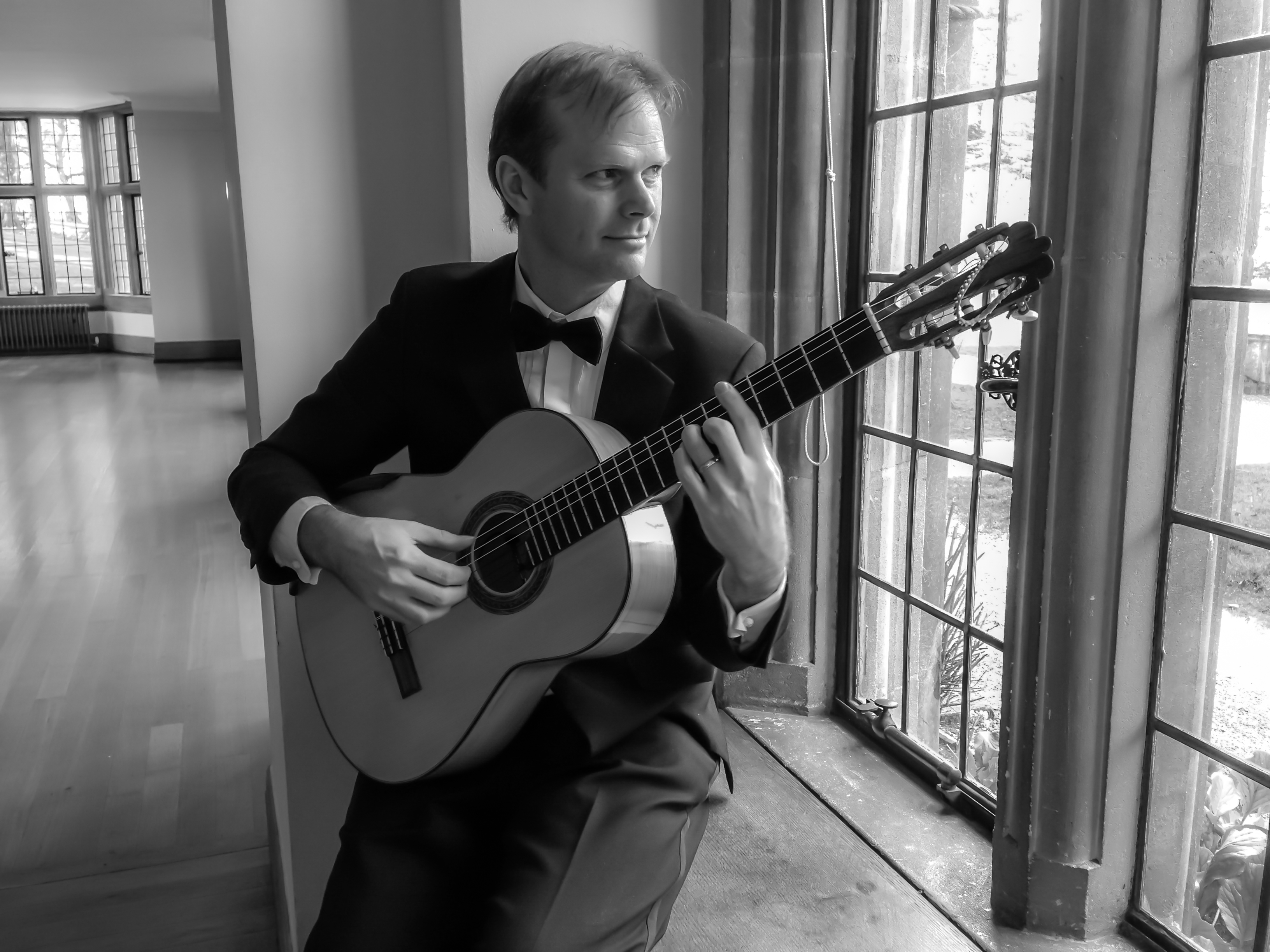 Coombe Lodge Classical guitarist