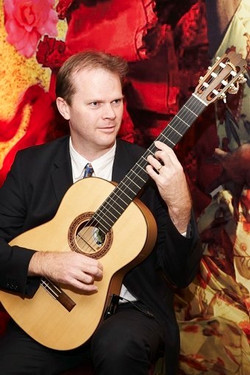 Jon Pickard Famenco Guitarist