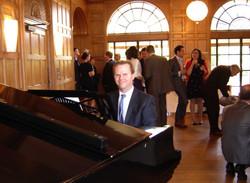 Wedding pianist Jon Pickard