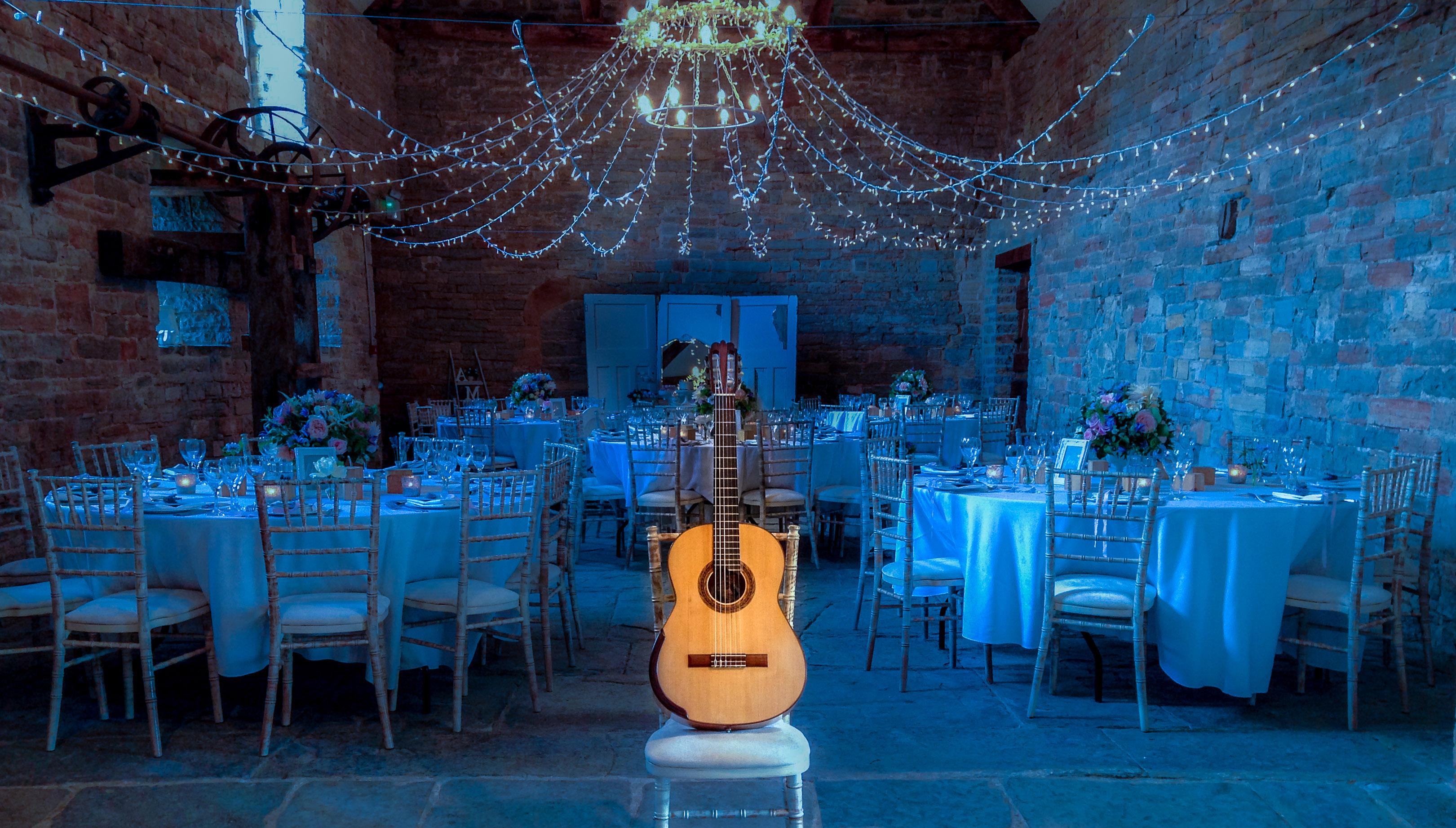 Classical Guitar at wedding venue