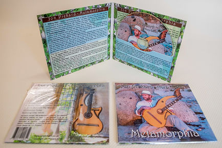 Metamorphia by Jon Pickard Harp Guitar CD