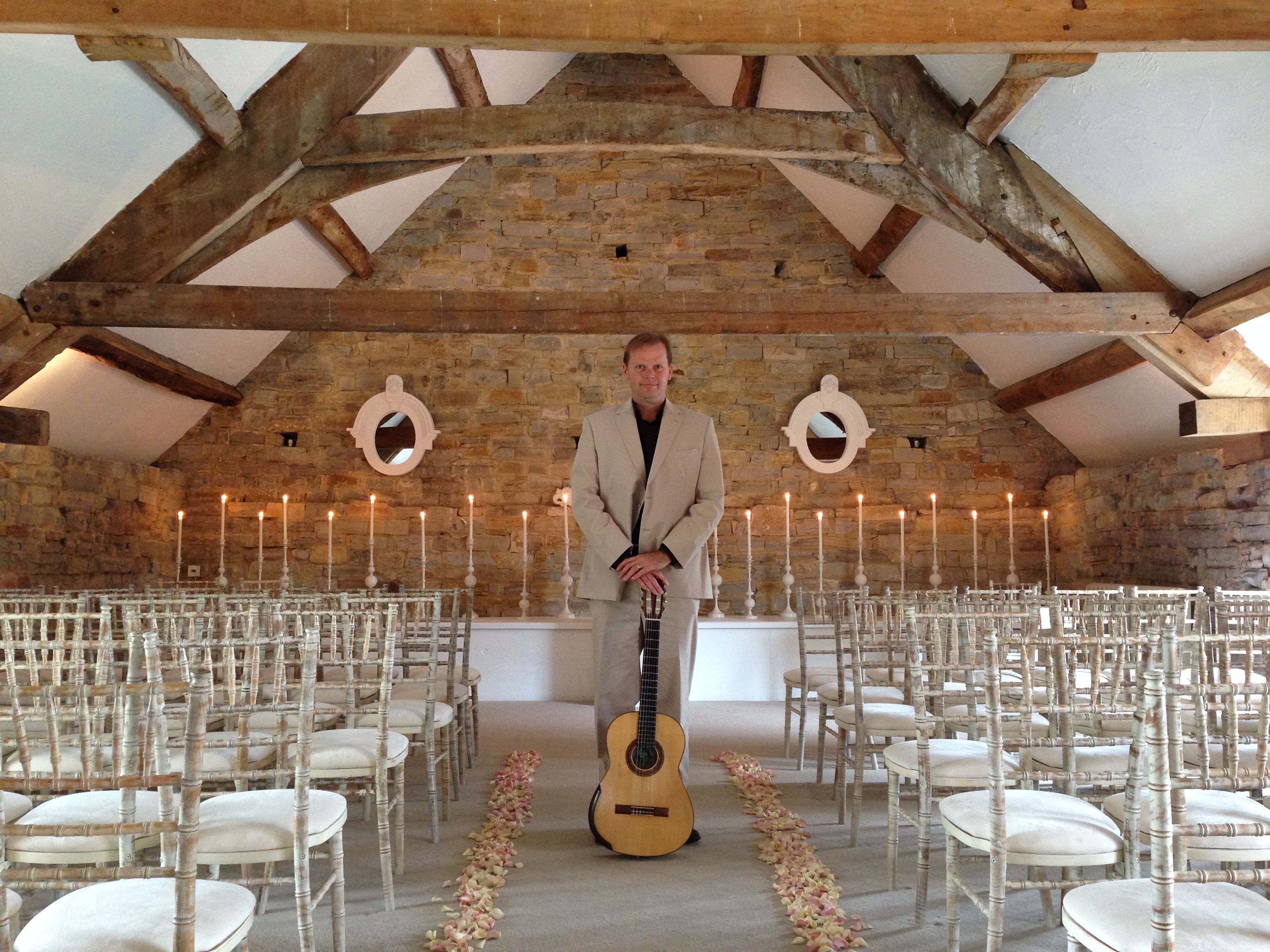 Jon Pickard wedding guitarist