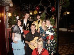 Flamenco guitarist Jon Pickard