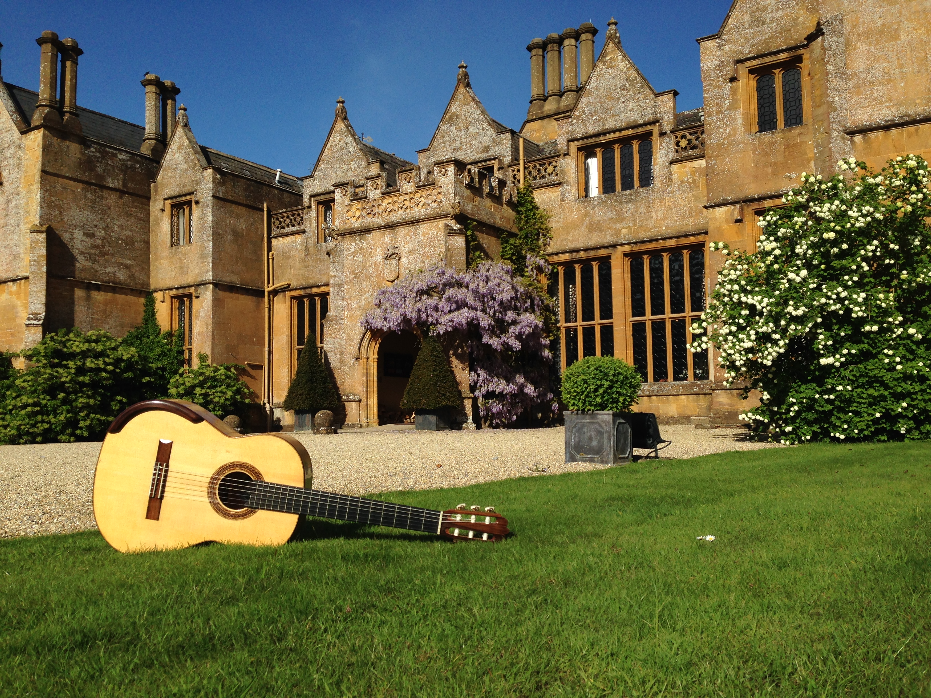 Classical Guitar at Dillington House