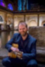 Wedding guitarist at Roman Baths