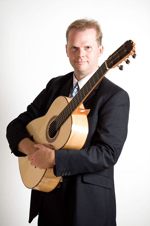 Jon Pickard classical guitarist for funerals