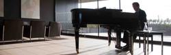 Professional pianist Jon Pickard