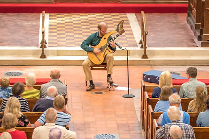 Classical Harp Guitar concert in church