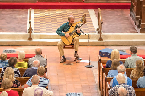 Classical Harp Guitar concert in church