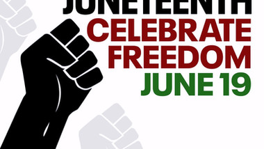 Celebrating Juneteenth!