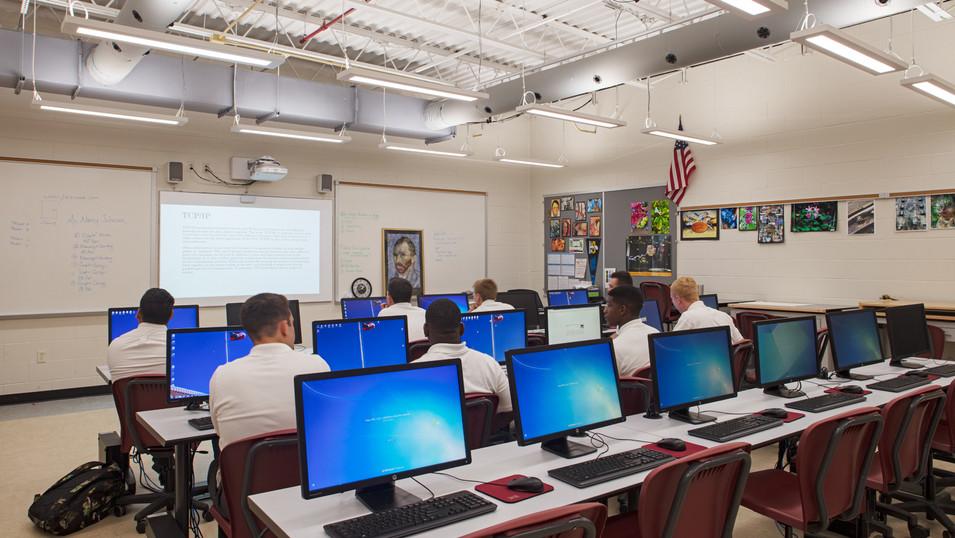 BC STEM Wing Classroom