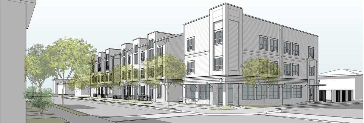 Broad Street Mixed-Use Apartments