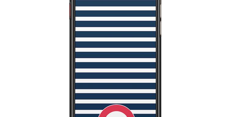 Coque de protection de téléphone Marin