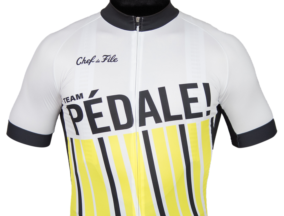 Maillot collector Pédale! x Chef de File