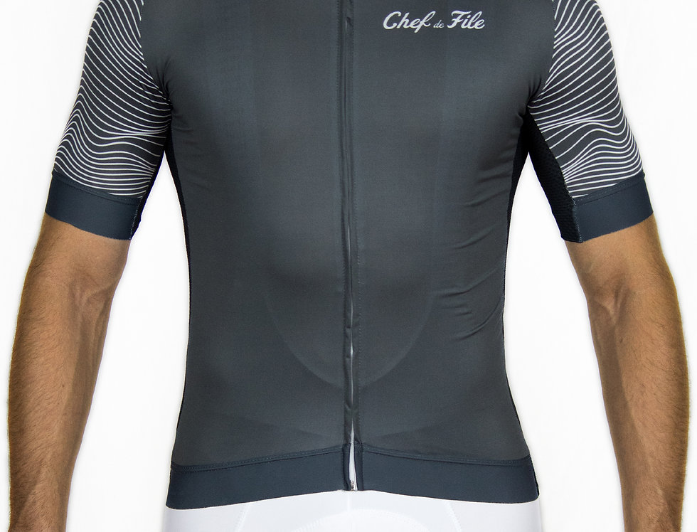 Maillot Relief Anthracite