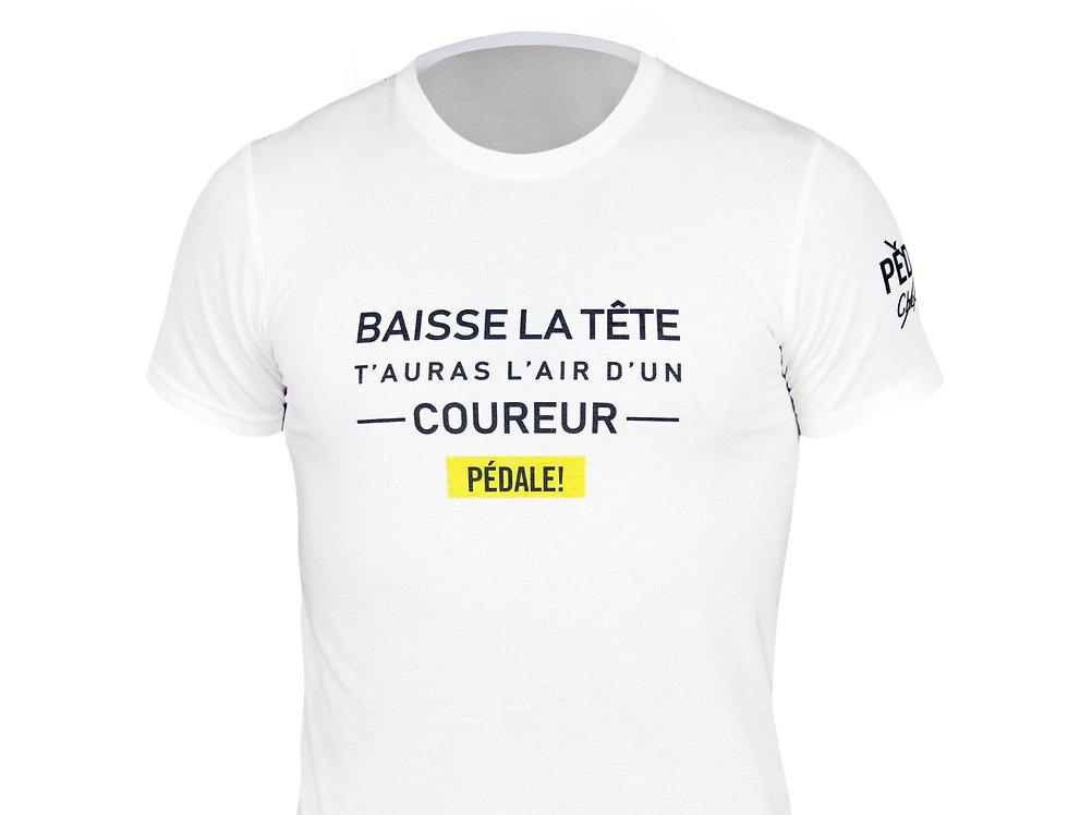 T-Shirt Pédale! du directeur sportif