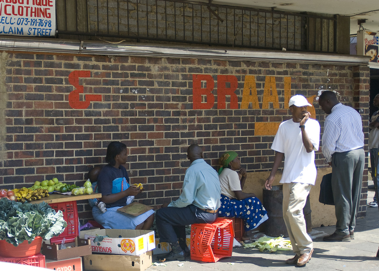 South African Street Vendors