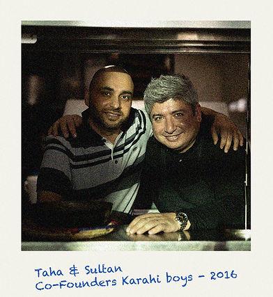Karahi Boys Owners, Taha & Sultan