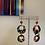 Thumbnail: Rainbow Tortoise Dangle Earrings