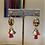 Thumbnail: Micro Multi Tassel Dangle Earrings
