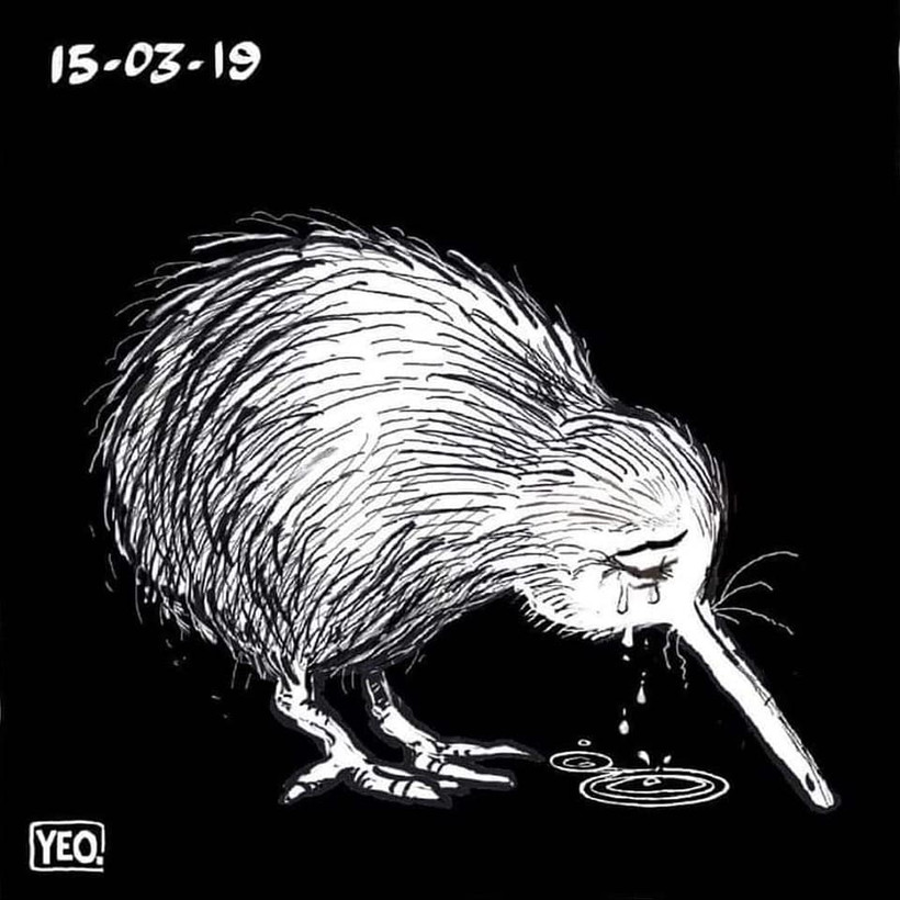 Our hearts are with you, Christchurch!