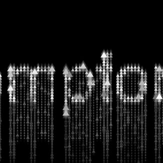 Text pixelation and animation