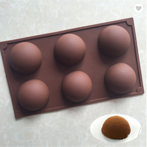 Large Hot Cocoa Bomb Silicone Mold ~70mm