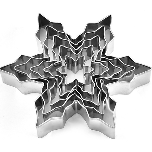 Snowflake Stainless Steel Cookie Cutter