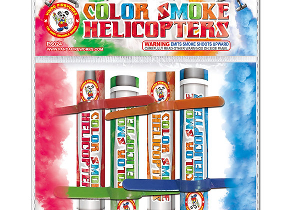 COLOR SMOKE HELICOPTERS