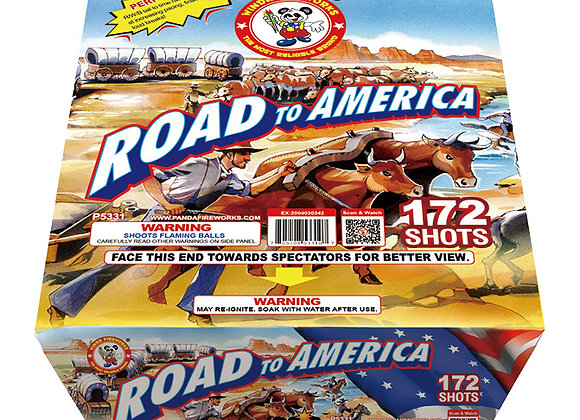 ROAD TO AMERICA 172'S